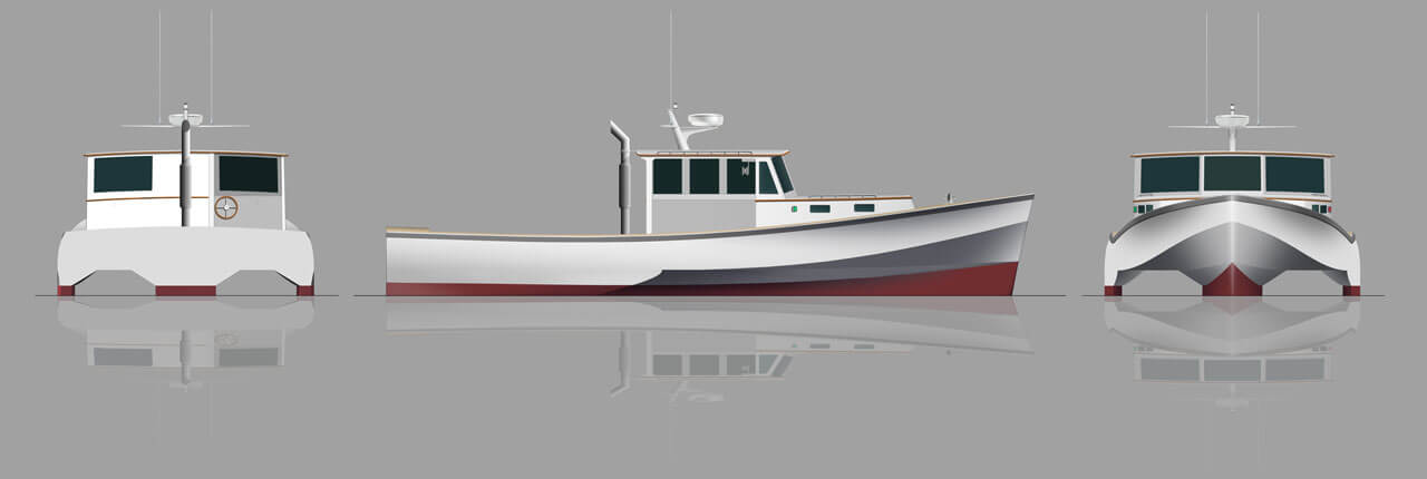 Green Lobster Boat | Maine Center for Coastal Fisheries