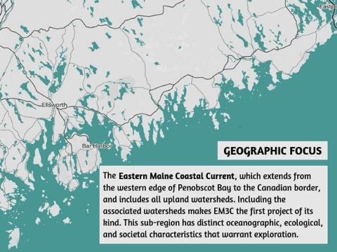 Eastern Maine Coastal Current Collaborative Geographic Focus