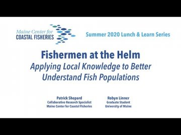 Lunch and Learn: Fishermen at the Helm